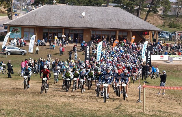 MTB maratons Ventspils &quot;Piedzvojumu park&quot;. - 9
