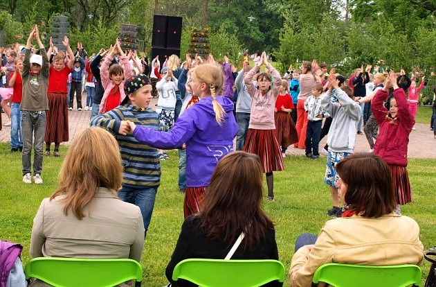 Tautas deju festivls &quot;Latvju brni danci veda&quot; - 4