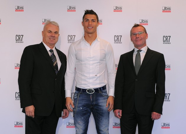 CR7_Presentation_17_Claus_Bjerg_S%C3%B8rensen__Manufacturer__Chairman_and_owner__JBS_Textile_Group___Cristiano_Ronaldo__Michael_Alstrup__CEO__JBS_Textile_Group_