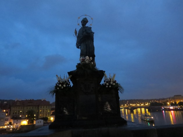 Statue of St John of Nepomuk, Prague