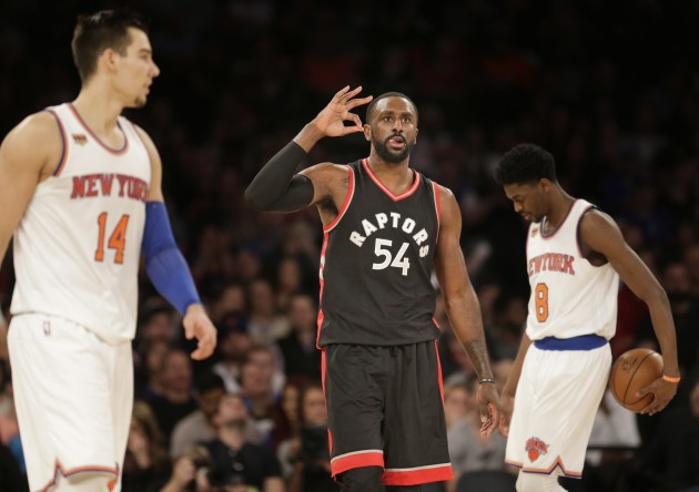 "Basketbols, NBA:  ""Knicks"" pret  Toronto ""Raptors""  - 8"