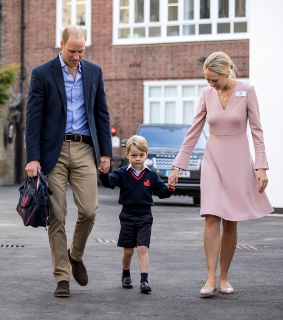 Prince George first day of school - 1