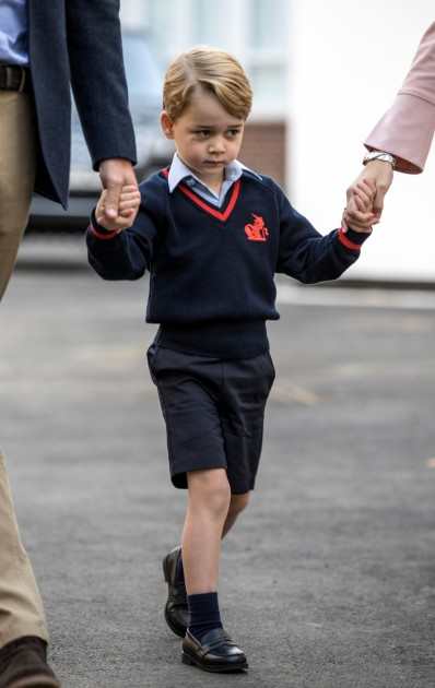 Prince George first day of school - 2