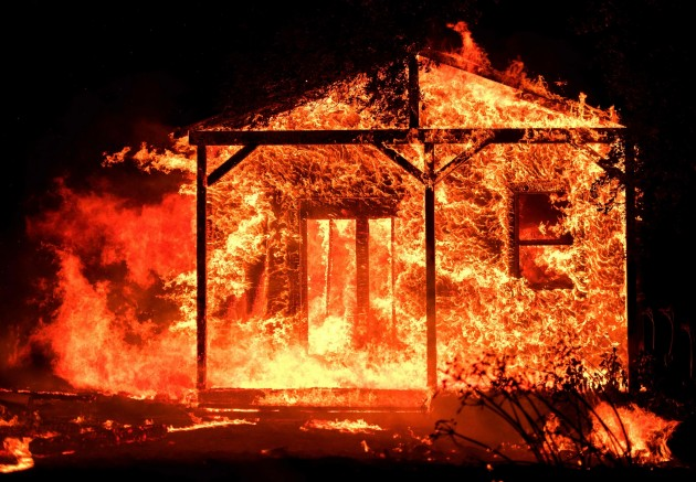 Wildfire in Northern California - 15