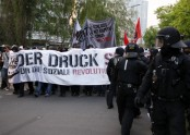 May Day demonstrations in Berlin