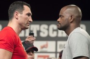 Vladimir Klitschko and Tony Thompson 
