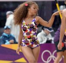 Cheerleader in Olympic