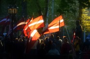 Flags in Riga