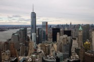 One World Trade Center towers in New York