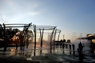 Scioto Mile Fountain