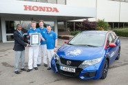 'Honda Civic Tourer' rekords - 9