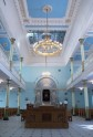 Riga synagogue-prayer hall from entrance