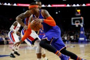 "Basketbols, NBA:  ""Knicks"" pret  Detroitas ""Pistons"" - 1"