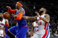 "Basketbols, NBA:  ""Knicks"" pret  Detroitas ""Pistons"" - 2"