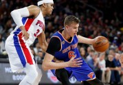 "Basketbols, NBA:  ""Knicks"" pret  Detroitas ""Pistons"" - 3"