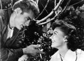 movie Rebel Without a Cause, USA 1955, director Nicholas Ray, scene with James Dean, Natalie Wood,
