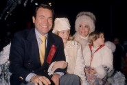 Natalie Wood with husband Robert Wagner and their children, circa 1977