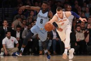 Basketbols, NBA spēle: Knicks - Grizzlies