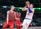 Kristaps Porziņģis, Knicks, Chicago Bulls Foto:  USA TODAY Sports