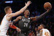 Basketbols, NBA spēle: Knicks - Nets