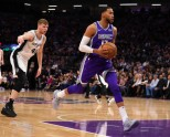 Basketbols, NBA spēle: Sanantonio Spurs - Sakramento Kings - 1