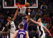 Basketbols, NBA spēle: Sanantonio Spurs - Sakramento Kings - 2
