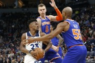 Basketbols: Knicks vs Timberwolves - 2