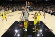Basketbols; NBA; Spurs pret Nuggets; 2018 - 3