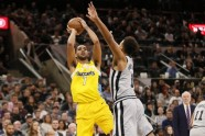 Basketbols; NBA; Spurs pret Nuggets; 2018 - 7