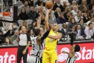 Basketbols; NBA; Spurs pret Nuggets; 2018 - 8