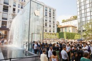 'Apple Piazza Liberty' veikals MIlānā