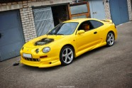 Yellow Celica