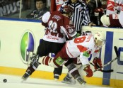 KHL sple: Rgas Dinamo - Maskavas Spartak - 21